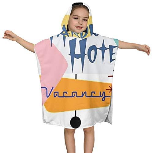 Kinderbadhanddoek Stardust Motor Hotel Hoge Kwaliteit Zwemmen Multifunctionele Mantel Ontwerp Super Zachte en Super Grote Ultrafijne Polyester Fiber voor Meisjes en Jongens