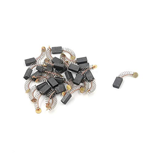 FarBoat 30Pcs Carbon Motor Brushes Electric Rotary Motor Tool for Dremel Electric Motors Spare Part Repair
