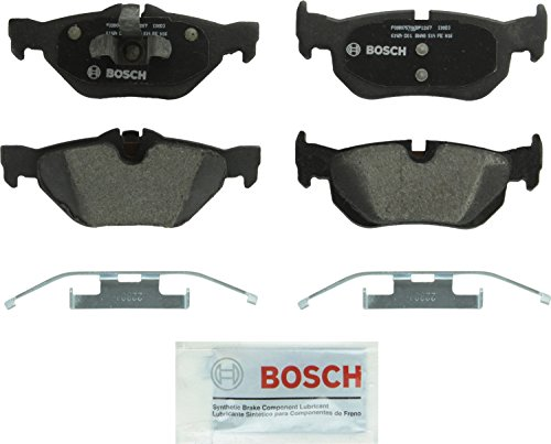 Bosch BP1267 QuietCast Premium Semi-Metallic Disc Brake Pad Set For: BMW 1 Series M, 128i, 323i, 328i, 328i xDrive…