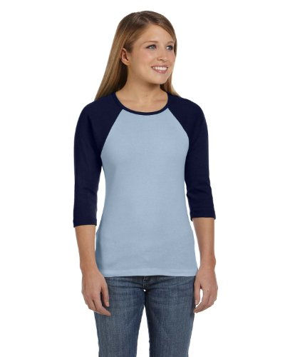 Womens Fitted Baby Rib Tee - 2