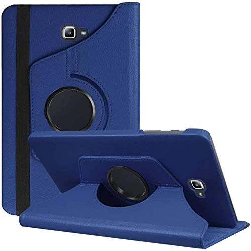 Samsung Galaxy Tab A6 10.1 case, Samsung T580 Case, Galaxy T585 Case, Samsung Tab A 10.1 Rotating Case,Premium PU Leather 360 Degree Rotating Stand Cover for Samsung Galaxy Tab A 10.1 T580 / T585