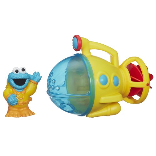 Cookie Monster Sub is a popular bath toy for 2 year olds