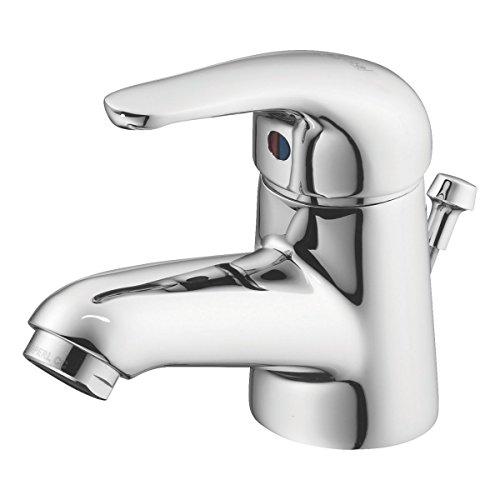 Ideal Standard Opus Waschtischarmatur Bad Armatur mit Zugstangen-Ablaufgarnitur