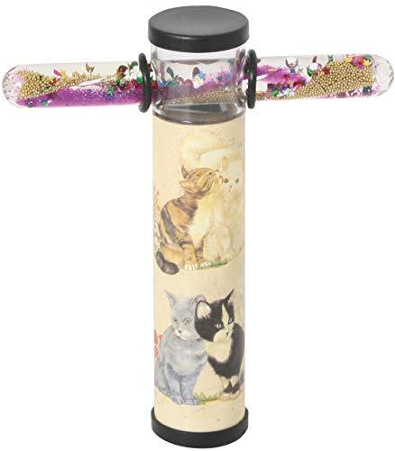Caleidoscopio con varita mágica gatos / mariposas