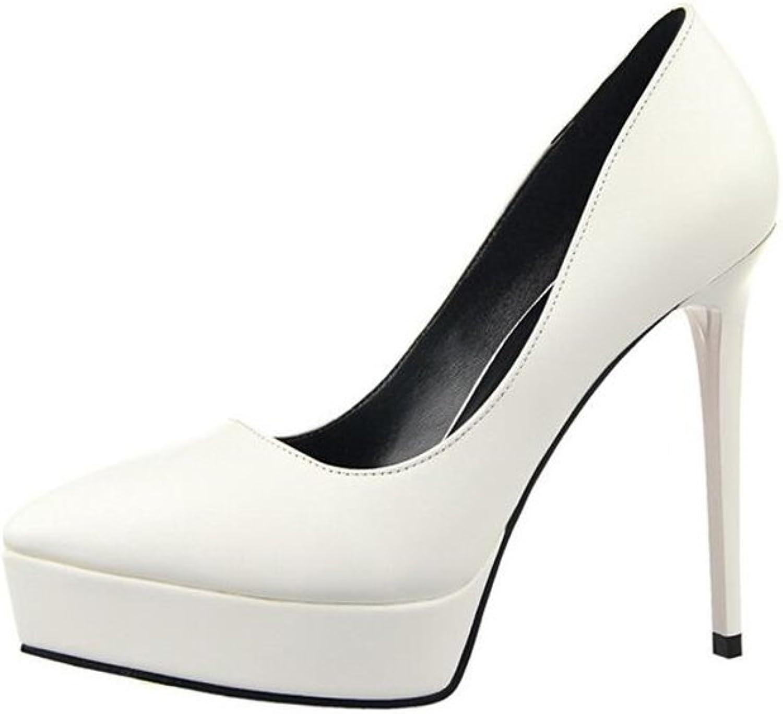 Cloudless Women's Party shoes Pointy Toe Hidden Platform Stiletto Pump shoes
