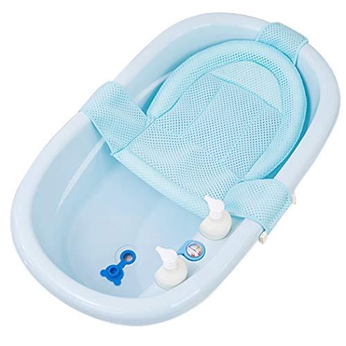 Justdolife Baby Badzitje Verstelbare Antislip Badkuip Zitgedeelte Mesh Sling Douchestoel