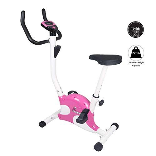 BH Indoor Heimtrainer Home Spinning Bike Gurtband Fitness Bike Gewichtsverlust Fitnessgeräte Büro LED-Anzeige 6 Gang Höhenverstellung für die ganze Familie