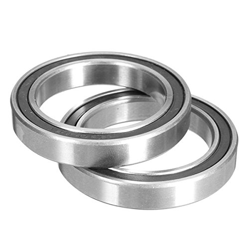 ILS - 2 Pieces 6806-2RS Ceramic Bearings for Cannondale Rotor BB30/PF30/BB 386/BB Right Bottom Bracket