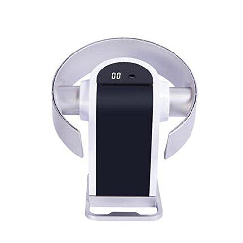 BJL Air Cooler Vent doux et naturel, confortable et silencieux, sûr et économiseur d'énergie, affichage à LED, sol silencieux mural à la maison secouant la petite tête d'air