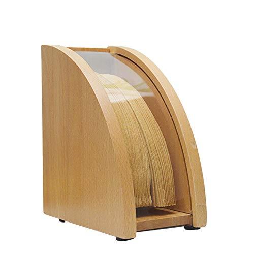 Kaffeefilterhalter | Konische Filter Papier Box Mit Deckel | Kaffee Filter Ablage Papier Regal Ständer | Holz/Acryl