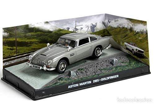 James Bond - Aston Martin DB5 1/43 con lame per ruota (dito oro)