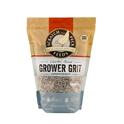 Scratch and Peck Feeds Cluckin' Good Grower Grit Supplement for Chickens and Ducks - 7-lbs - 9374-07
