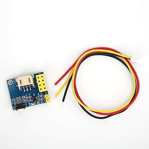 Hilitand 2Pcs ESP8266 ESP-01 ESP-01S WS2812 RGB Módulo de control de luz LED para iluminación DIY(Light Module)