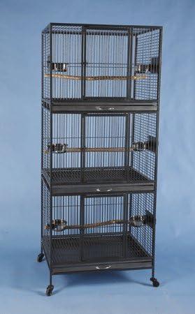 Hawaiian Hotel Three Tier Bird Cage - C 24