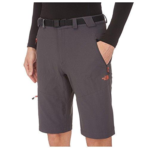 THE NORTH FACE Pantalón corto de senderismo para hombre, talla 42, color gris