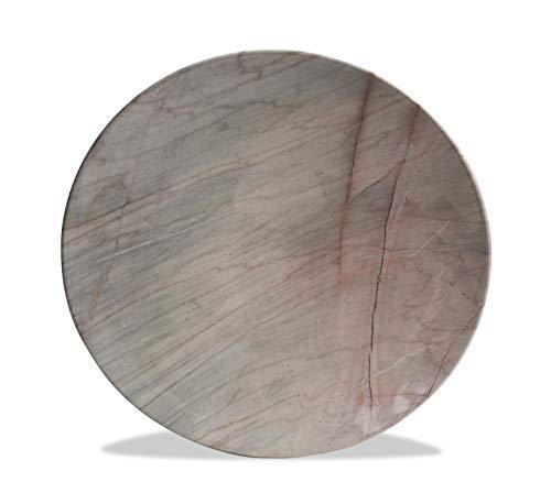 Très Grande Thai Marbre platines, 38.5 cm de diamètre – Choisissez Couleur/Design. (Motif C-r)