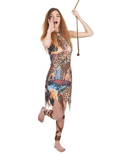 Déguisement femme de la jungle Taille Unique
