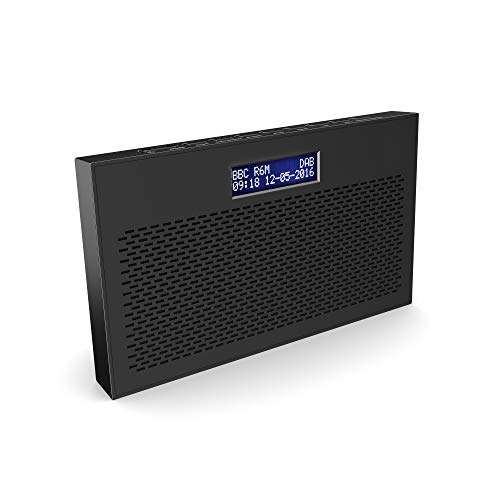 Majority Histon II DAB/DAB+ Digital & FM Portable Radio, Dual Alarm Clock,...