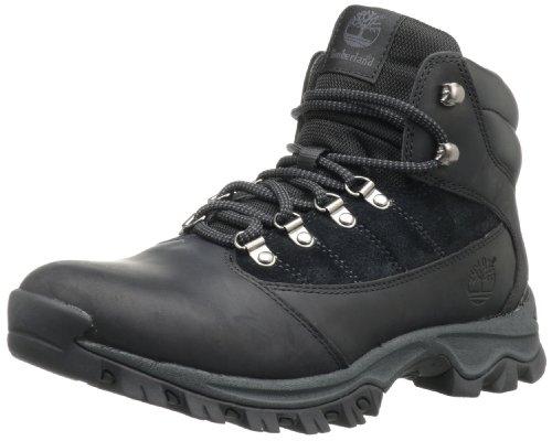Timberland Rangeley Mid Cuir Chaussure de Randonnée, Noir, 45.5 EU