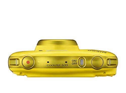 Nikon COOLPIX S33 + Selfie Stick - Cámara Digital compacta (13.2 MP, Zoom óptico de 3X y...