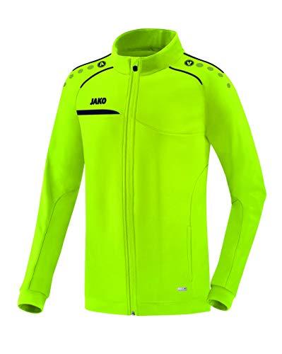 JAKO Herren Prestige Polyesterjacke Jacke, Lemon/Marine, L