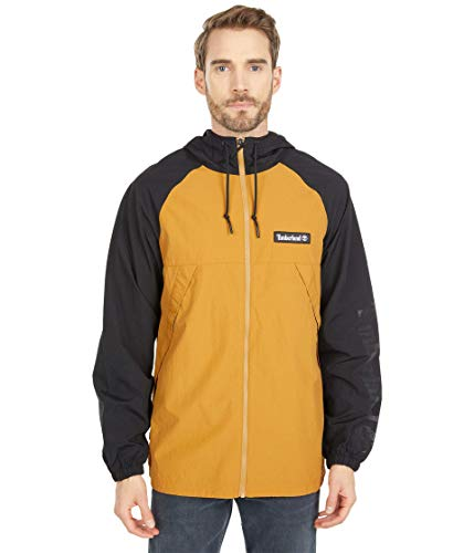 Timberland Windbreaker Full Zip Jacket Black/Wheat Boot 2XL