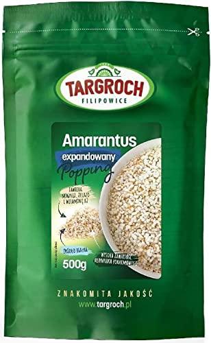 Amarantus ekspandowany popping 500g Targroch