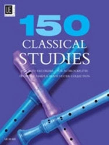 150 Classical Studies: from the famous Frans Vester Collection. Für Altblockflöte.