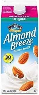 Almond Breeze Unsweetened Original, Almondmilk, 64, Fl Oz
