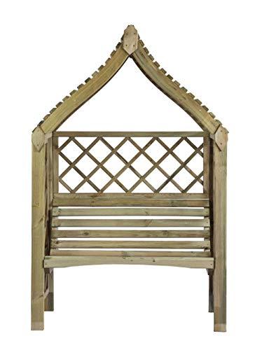 Pergola Siam de jardin à deux places en bois
