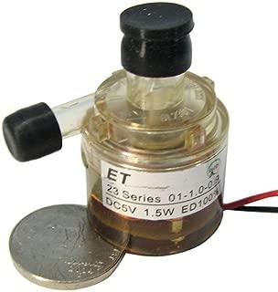 E T Tech 4-6 VDC 300mA 1LPM Continuous Duty Micro Fluid Pump