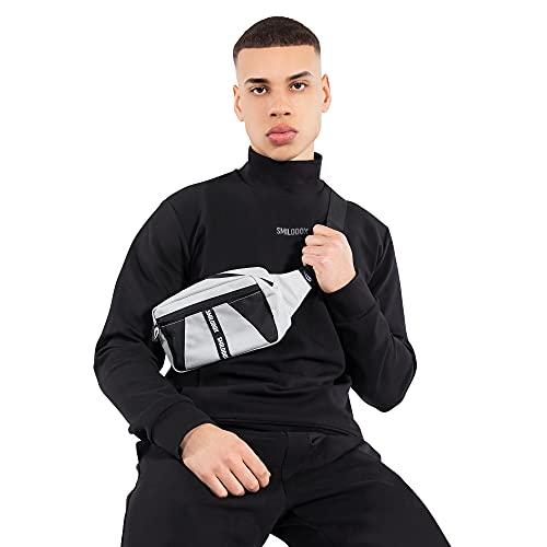 SMILODOX Cinturbag James I Ideal para gimnasio deportivo gimnasio   Bolsa de viaje - bolsa, Color:Beige/Schwarz