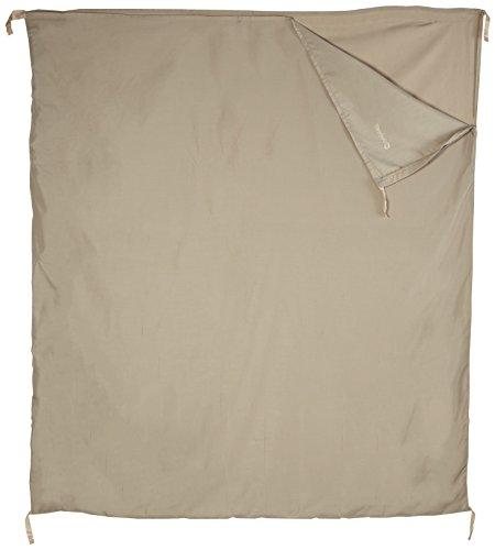 Outwell Schlafsack-Innenbezug Baumwoll-Liner-Steppdecke (Doppelt), Beige, 185 x 160 cm