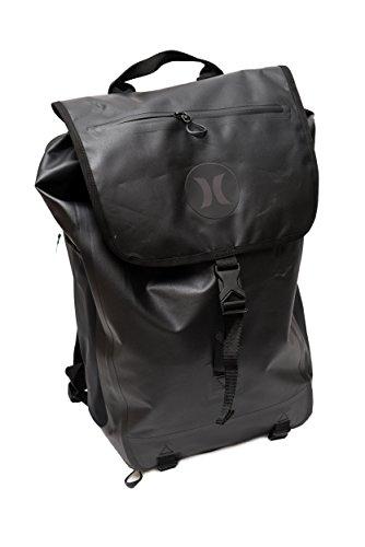 Hurley unisex Wet Dry Elite mochila, negro / negro, talla única