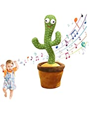 Singing And Dancing Cactus Plush Toys, Electronic Dancing Cactus, Singing and Dancing Cactus Plush Toys for Kids(1pcs)