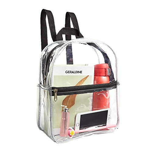 Stadium Approved Clear Mini Backpack