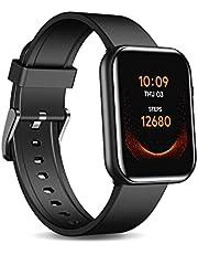 TicWatch GTH smartwatch tot 10 dagen levensduur van de batterij met huidtemperatuur meting bloed zuurstof hartslag monitoring slaap tracking 5ATM waterdicht voor mannen en vrouwen