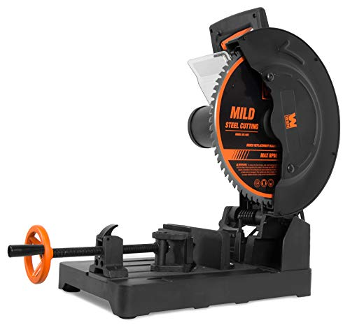 WEN CM1452 15-Amp 14-Inch Premium Multi-Material Cut-Off Chop Saw with...