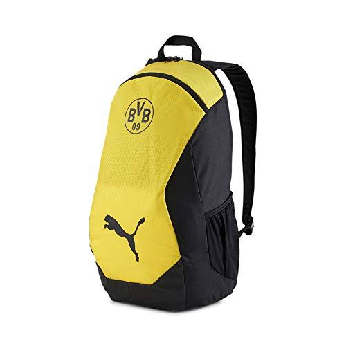 Puma Borussia Dortmund Final - Mochila (talla única), color negro y amarillo