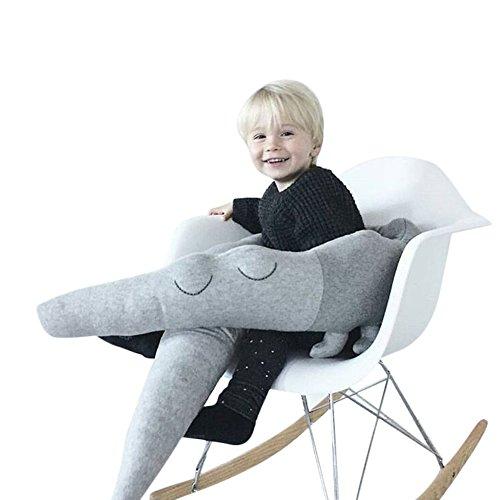 kuuboo suaves almohadillas de cuna para bebé cama cuna juego de cama Lovely Big de piel de cocodrilo Abrazando almohada cojín de algodón suave almohada dormir juguetes animales algodón juguete