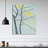 KWzEQ Famoso Artista árbol Paisaje Lienzo Pintura impresión Sala de Estar decoración del hogar Moderno Arte de la Pared Pintura al óleo,Pintura sin Marco,40x50cm