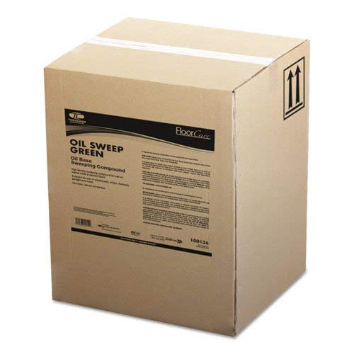 TOL3136100BX - Oil-Based Sweeping Compound, Grit-Free, 100lbs, Box