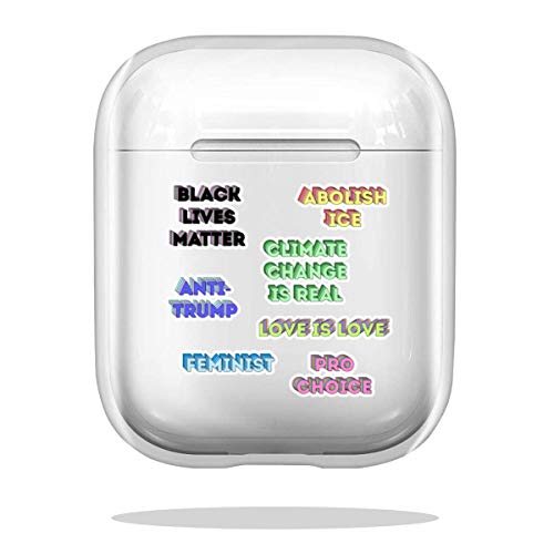 Case Cover Liberal Starter Pack Compatible with Airpod Pro Airpods Scratch Anti Charm Funny
