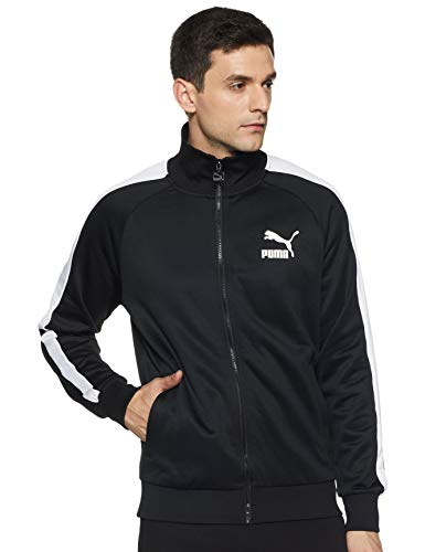 PUMA Iconic T7 PT Herren Trainingsjacke Puma Black L