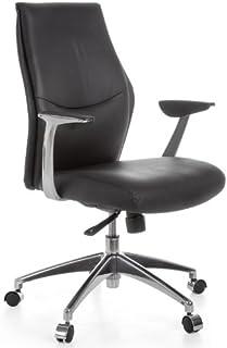 Amstyle Design escritorio silla de piel con mecanismo de 5 puntos de hasta 120 kg kenil 2