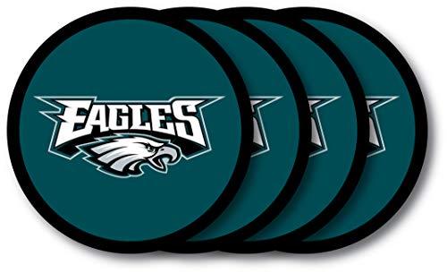 Philadelphia Eagles Lot de dessous de verre – Lot de 4