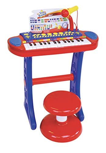 Bontempi 13 3240 - Tastiera 32 tasti microfono e sgabello