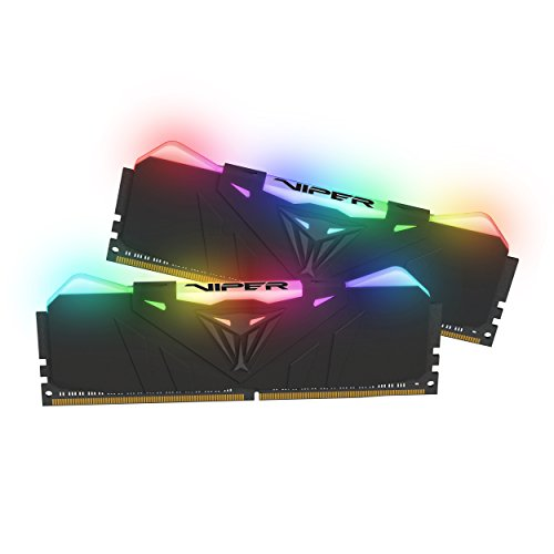 Patriot Viper RGB Serie 16GB Kit (16GB x 2) 4000MHz Gaming Memory LED Arbeitsspeicher