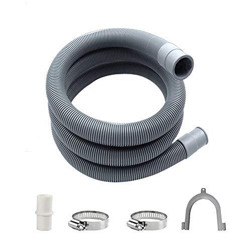 Ablaufschlauch für Trockner,Ablaufschlauch Verlängerung,Ablaufschlauch Waschmaschine,Spülmaschinenschlauch,Ablaufschlauch,Ablaufschlauch Anschluss Waschmaschine(2m)