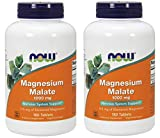 Magnesium Malate 1000Mg 180 tabs (Pack of 2)